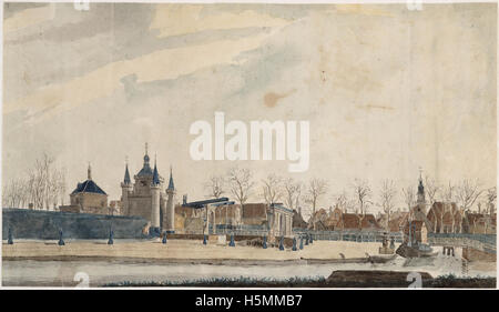 Friese Poort 1803 255 - Stock Image