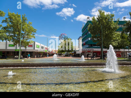 Hastings town centre, New Zealand - Stock Image