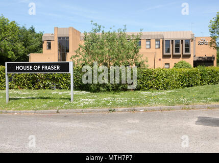 House Of Fraser Store Support Centre, Fraser House, Dorcan, Swindon, Wiltshire, England, UK - Stock Image