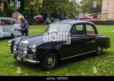 1956 Armstrong-Siddeley Sapphire 236 car at concourse in the Parliament House gardens, Hobart, Tasmania, Australia - Stock Image