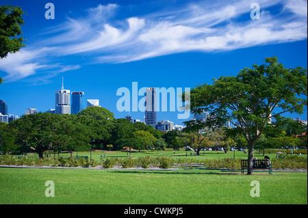New Farm Park, Brisbane Queensland Australia - Stock Image