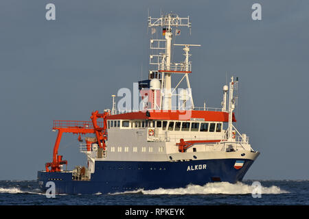 Research Vessel Alkor - Stock Image