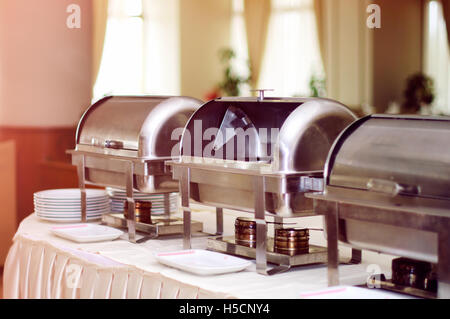 Catering wedding - Stock Image