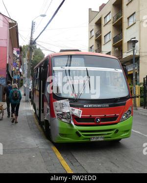 Neobus in Chile 2019 - Stock Image