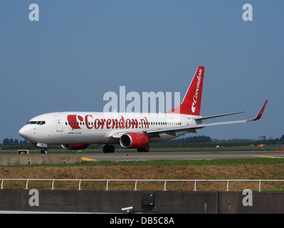 PH-CDF Corendon Dutch Airlines Boeing 737-804(WL) - cn 28227 - Stock Image