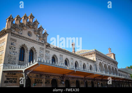 Toledo Train Station.  Toledo is a municipality located in central Spain, 70km south of Madrid. It is the - Stock Image