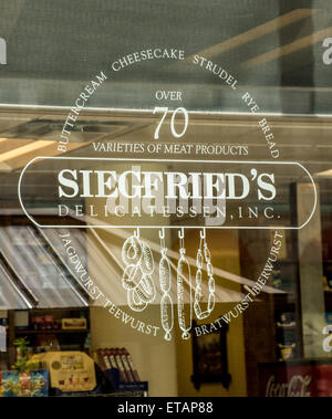 Siegried's Delicastessen, Inc - Salt Lake City - Utah - Stock Image