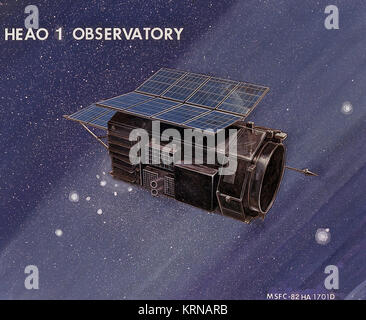 HEAO-1 High Energy Astronomy Observatory 0102089 - Stock Image