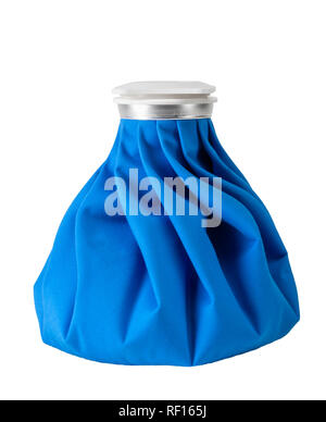 Blue Ice Pack - Stock Image
