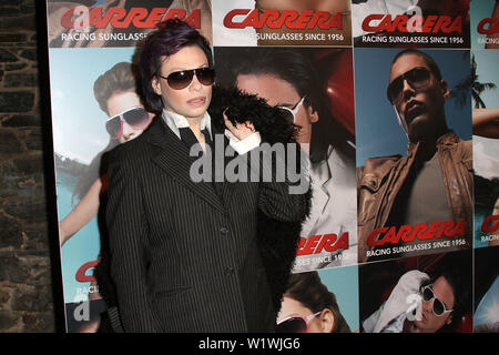 New York, USA. 13 March, 2009. Michael T at the launch of Carrera Vintage Sunglasses at Angel Orensanz Foundation. Credit: Steve Mack/Alamy - Stock Image