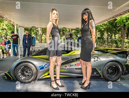 Piedmont Turin - Turin auto show 2019  - Valentino park  Spice X - Stock Image