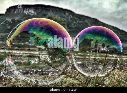 Soap bubbles - Stock Image