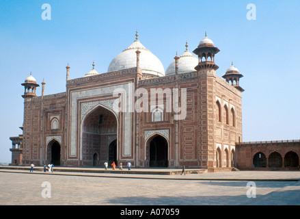 The Taj Mahal Mosque, Rajasthan, India - Stock Image