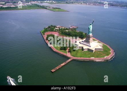 Statue of Liberty New York USA - Stock Image