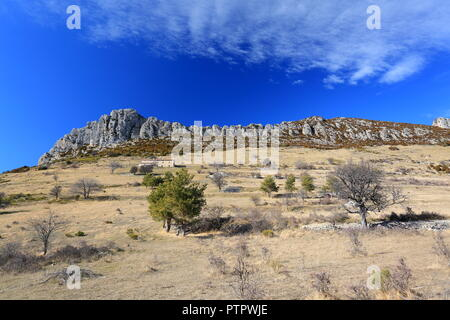Prealpes d'Azur, Alpes Maritimes, 06, PACA, France - Stock Image
