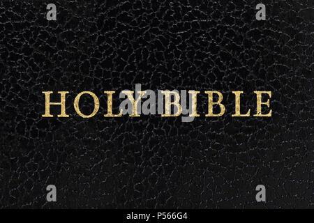 The Bible, Close Up - Stock Image
