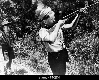 COLIN PETERSEN, SMILEY, 1956 - Stock Image