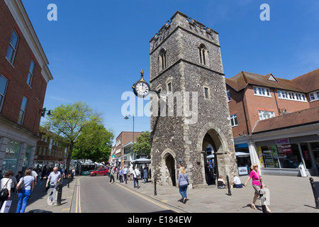 The Clocktower Canterbury Kent - Stock Image