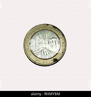 Limited edition British £2 coin commemorating the famous nurse Florence Nightingale - Stock Image