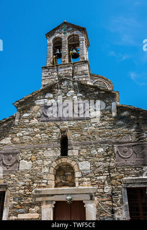 Church Belltower in Skopelos Town, Northern Sporades Greece. - Stock Image