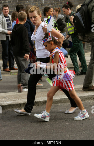 Notting Hill Carnival 2010 - Stock Image