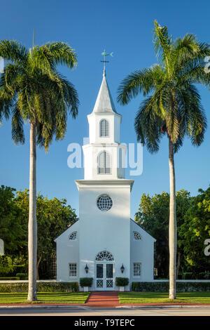 Trinity-by-the-Cove Episcopal Church, Naples, Florida, USA - Stock Image