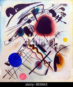 Black Spot, Wassily Kandinsky, 1921, Zurich Kunsthaus, Zurich, Switzerland, Europe - Stock Image