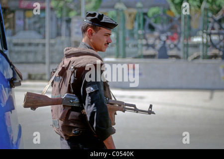 Soldier, Cairo, Egypt - Stock Image