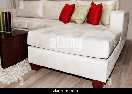 Interiors of a living room - Stock Image