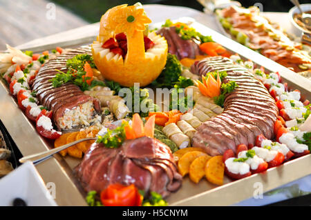 Catering food - Stock Image