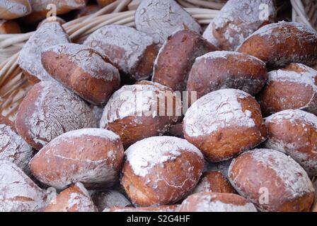 Fresh rolls - Stock Image