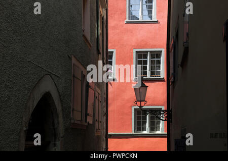 Switzerland, Zurich canton, city of Zurich, lane of the Cabaret Voltaire in the old town - Stock Image
