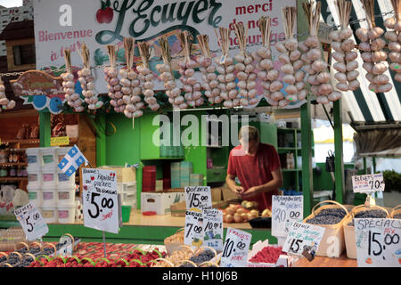 Produce at Jean-Talon Market, Montreal, Cananda - Stock Image