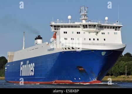 RoRo-vessel Finnbreeze - Stock Image