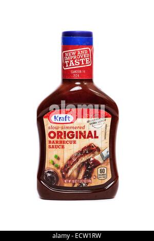 Kraft Original Barbecue Sauce with no high fructose corn syrup - Stock Image