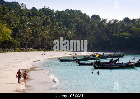 Freedom Beach tropical beach Phuket Thailand. - Stock Image