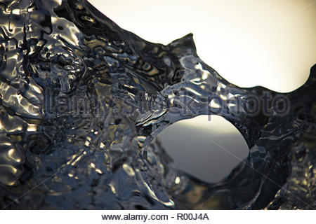 Close up of ice - Stock Image
