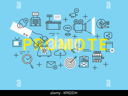 Infographic illustration related to REMOTE - Stock Image