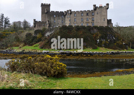 Dunvegan Castle, Isle of Skye, Highland Region, Scotland, UK - Stock Image