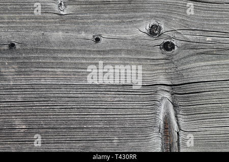 Texture of wooden plank fence. Similar texture could also be found from a wall or floor. Photographed in Nyon, Switzerland. Closeup photo. - Stock Image