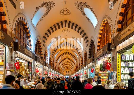 Spice Bazaar, Istanbul, Turkey - Stock Image
