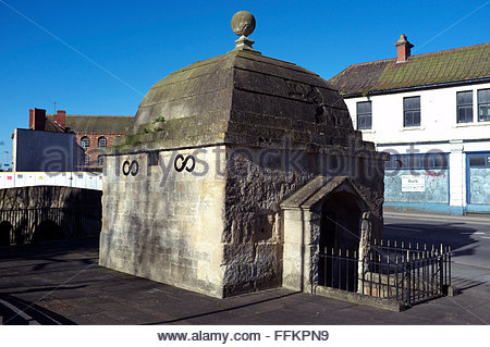 The Blind House - a place to put the drunks in to sober up, in the old days. Trowbridge in Wiltshire, UK. - Stock Image