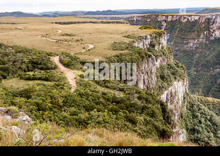 Canyon Fortaleza in Rio Grande do Sul, Brazil - Stock Image