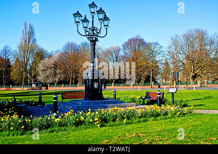 The Five Lamps, Thornaby on Tees, Cleveland, England - Stock Image