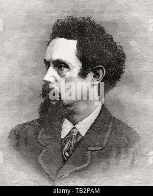Henry Stacy Marks, 1829 – 1898.  English artist.  From La Ilustracion Iberica, published 1884. - Stock Image