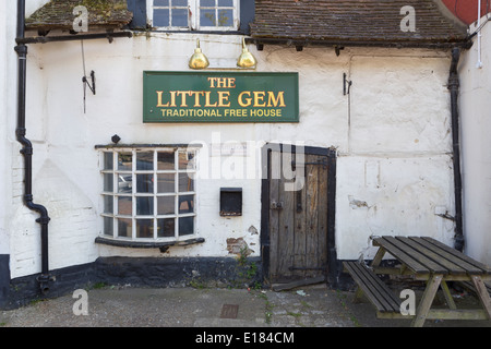 Little Gem Pub - Stock Image