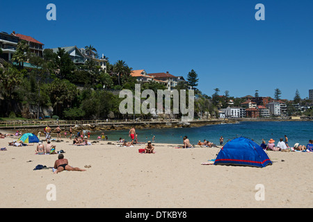 Shelly Beach Manly Sydney  Australia - Stock Image