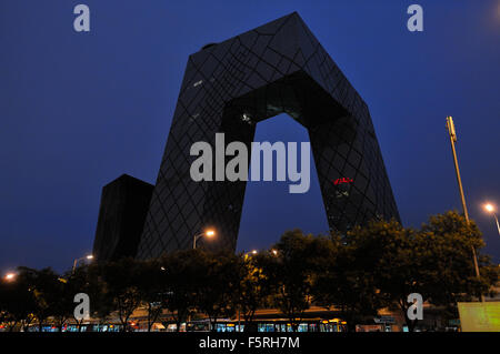 CCTV headquarters, Beijing CN - Stock Image