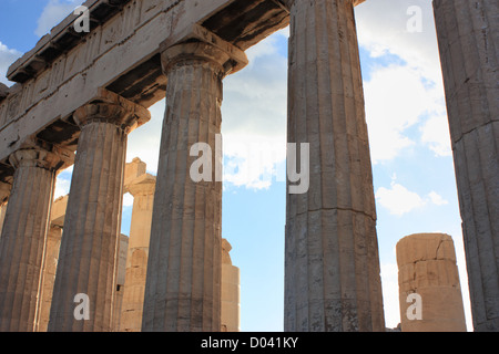 The Parthenon Acropolis Athens, Greece - Stock Image