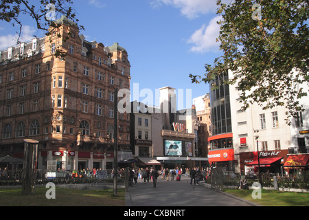 Leicester Square London - Stock Image